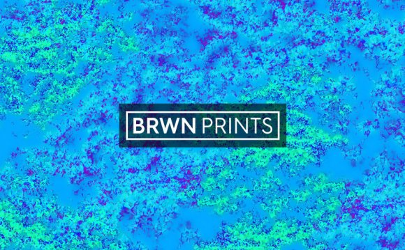 BRWN Textile Print Design