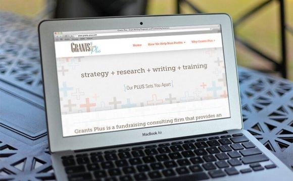 Grants Plus   Web Design