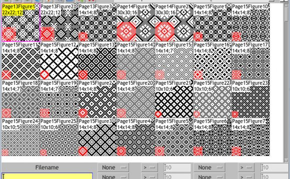 Software for weaving