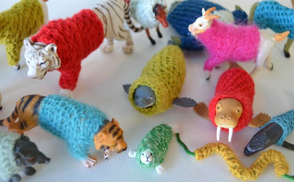 Animals with Sweaters