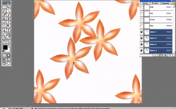 Photoshop in Textile