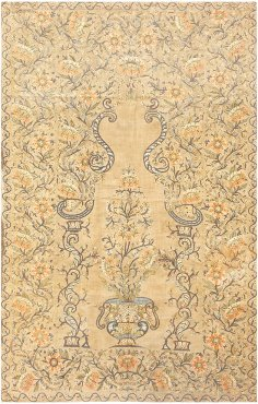 traditional Silk Persian Textile 8386