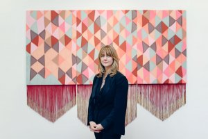 musician Emma Neuberg exhibits her operate in The Gallery as part of our Textile Design Season.