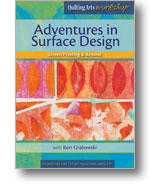 Custom Fabric Mark Making: activities in exterior Design