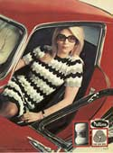 Patons Wool, magazine clipping, 1969.