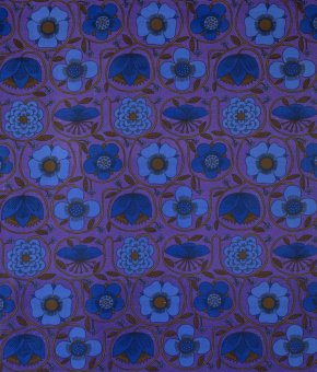 'Prince of Quince', furnishing material, Juliet Glyn-Smith, 1965. Museum no. CIRC.71-1967