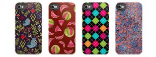 Repeat design iPhone cases