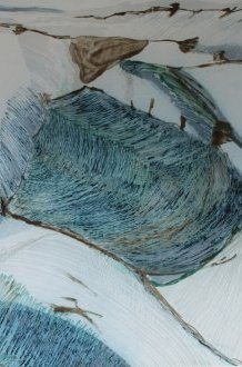 Textile art by modern musician Dionne Swift