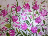Floral Design for fabric Painting