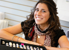 TMD grad with jewellery business
